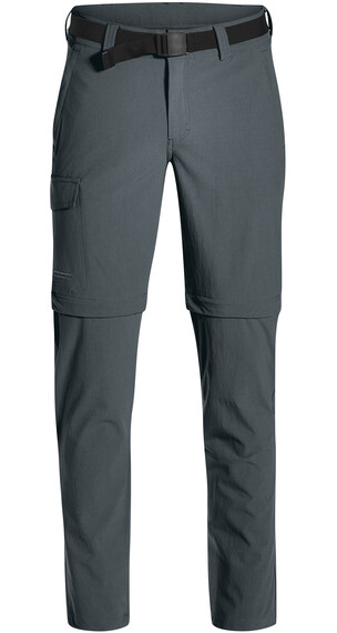 Maier Sports Torid Slim Zip Off Pants Men Short graphite